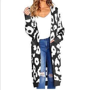 NWT Leopard Print Cardigan